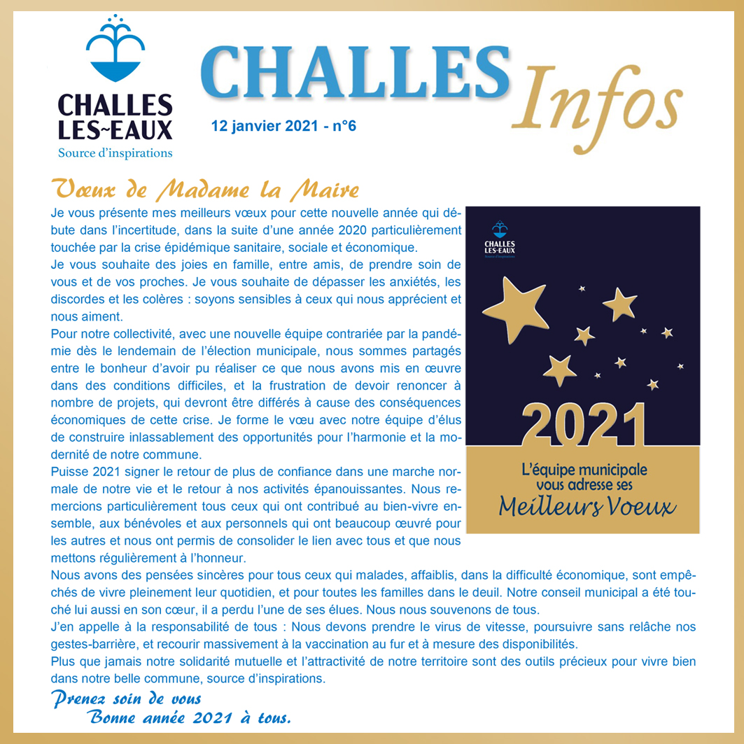 CHALLES INFOS n°6