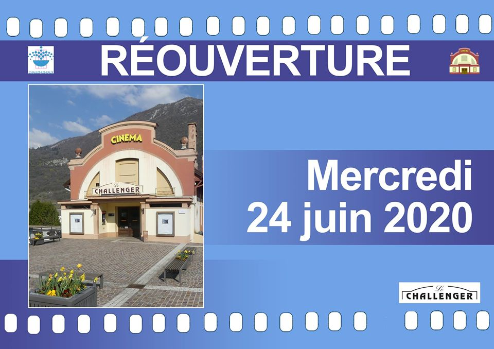 reouverture cinema challenger