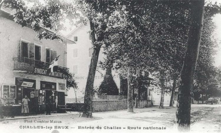 Le Syndicat d'Initiative vers 1930